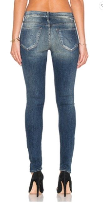 Mother Looker Sexy Skinny Jeans-Medium Wash