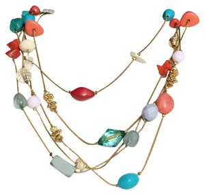 EsMor Esmor Vintage Multi Strand Necklace