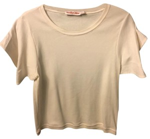 See by Chloé T Shirt Cream