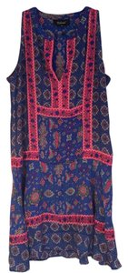 Anthropologie Silk Dress Boho Tunic