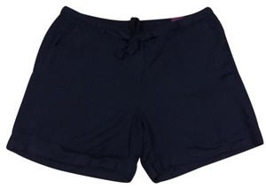 Lane Bryant Cuffed Shorts Navy