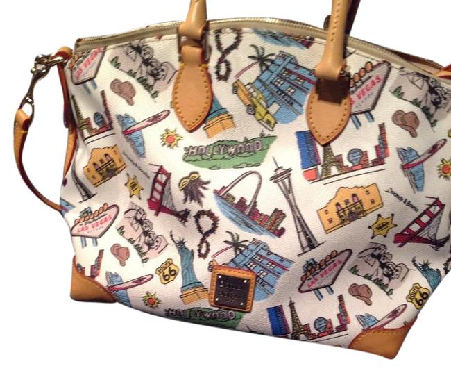 Item - Limited City Collection Multicolor Leather Satchel