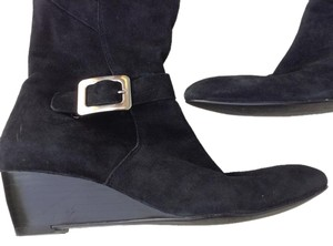Nine West Suede Black Boots