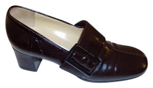 Dolce&Gabbana Patent Leather Size 7 Burgundy Pumps