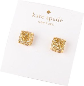 Kate Spade NEW Kate Spade New York MINI Gold Opal Glitter Studs Earrings