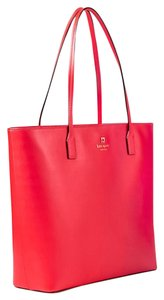 Kate Spade Blacktote Cherry Tote in Red