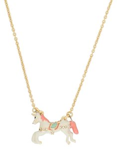 Kate Spade New kate spade New York Carnival Nights Unicorn Pendant Necklace