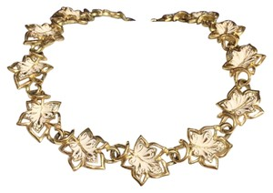 Other Coro Vintage Enamel And Gold Tone Choker Hook Necklace