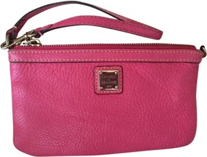 Dooney & Bourke Wristlet in Pink