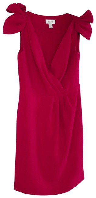 Preload https://item3.tradesy.com/images/ann-taylor-loft-red-above-knee-cocktail-dress-size-0-xs-197417-0-0.jpg?width=400&height=650
