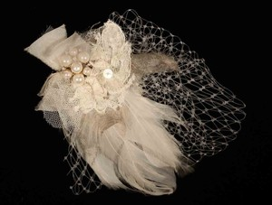 Haircomb Bridal Headpiece