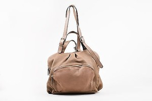 Marni Taupe Grain Shoulder Bag