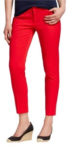 Merona Boot Cut Pants Red Orange
