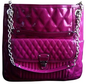 Coach Stylish Rare Mint Condition Quilted Tote in Pink/Magenta