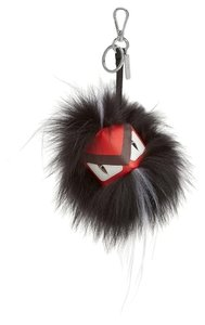 Fendi Igor Fur Bag Bug Cube Monster Key Chain Bag Charm