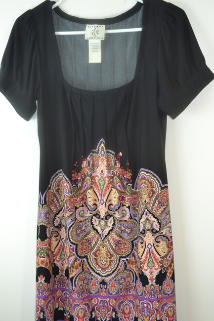 Ice short dress Black /Multicolored on Tradesy