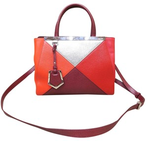 Fendi 2jours Satchel in multicolor
