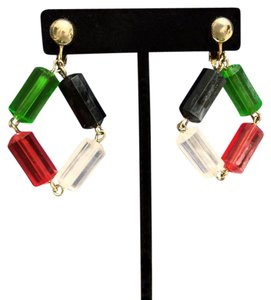 Sarah Coventry Unique Sarah Coventry Vintage Beaded Clip On Earrings