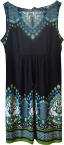 Apt. 9 short dress Black Multicolored Paisley on Tradesy