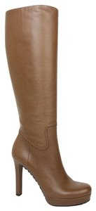 Gucci Women's Leather Brown Boots