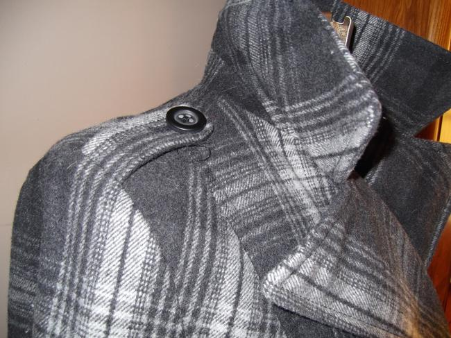 Old Navy Grey and White Coat Size 8 (M) Old Navy Grey and White Coat Size 8 (M) Image 6