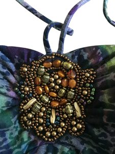 Eyeshadow Top Multi beaded