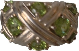 Private Collection Stunning Peridot Ring in SS