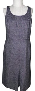 Ann Taylor short dress black/white tweed on Tradesy