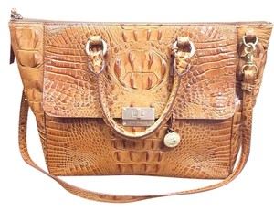 Brahmin Satchel in Whiskey