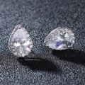 Silvler/Rhodium Vintage Chic Micro Pave Brilliant Crystal Earrings Image 3