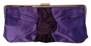 J.Crew Royal Blue with Navy Bow Clutch