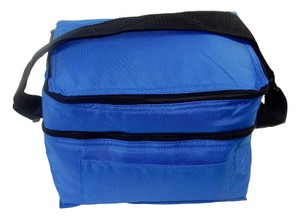 Prime Line Lunch Insulated Lunch Lunch Box Insulated Tote in Blue