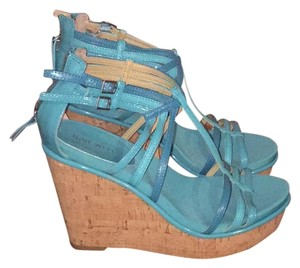 Nine West Turquoise Wedges