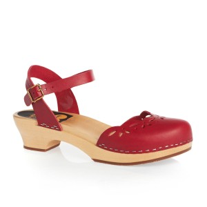 swedish hasbeens Red Mules