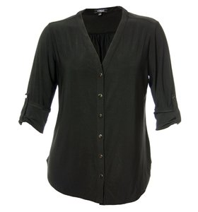 Elementz Button Down Shirt Black
