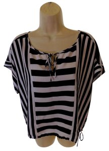 BCBGMAXAZRIA Bcbg Top Black/White
