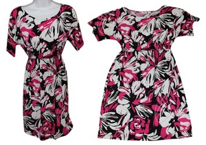 Cato short dress Pink Blouson Floral on Tradesy