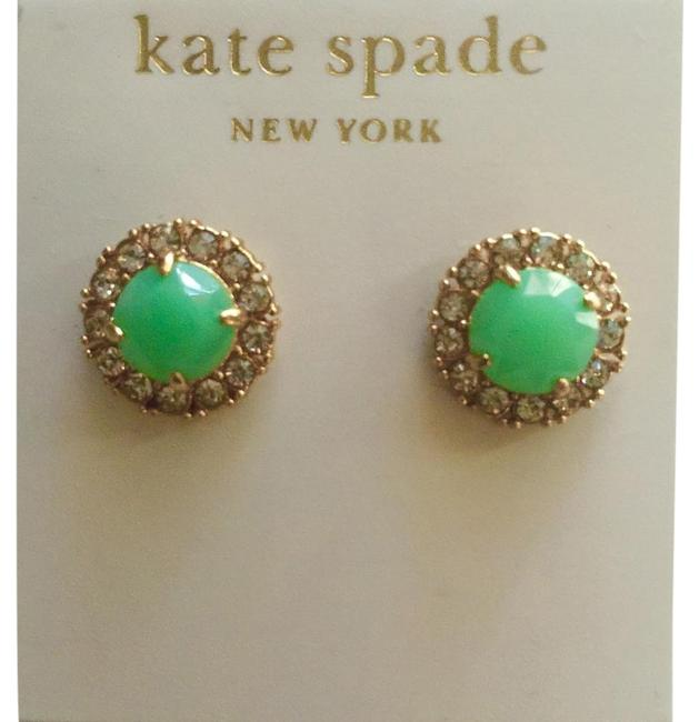 Kate Spade Mint Green Secret Garden Earrings Kate Spade Mint Green Secret Garden Earrings Image 1