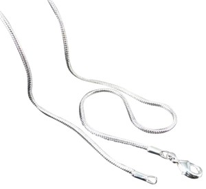 925 Silver Snake Necklace Chain
