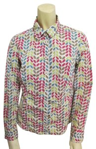Boden Cotton Casual Longsleeve Button Down Shirt Multi-Color