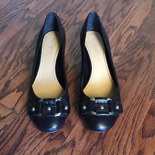 Nine West Black with silver buckle Pumps Image 1