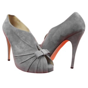 Valentino Grey Gray Pumps