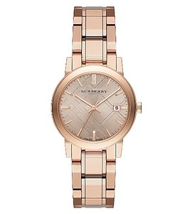 Burberry Burberry Classic Check BU9135 Rose Gold Tone Stainless Watch