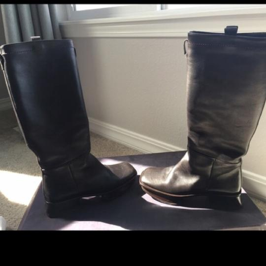 Prada Dark Brown Boots Image 3