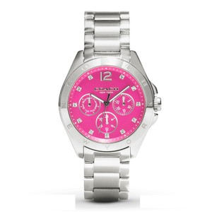 Coach Coach Tristen 14502071 Stainless Pink Dial Chronograph Watch