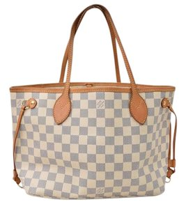 Louis Vuitton Neverfull Pm Tote in White