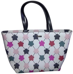 Kate Spade Large Multicolor Stylish Printed Floral Shoulder Bag