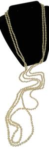2 Strand Imitation Pearl Necklace