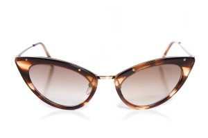Tom Ford Tom Ford Tortoise 'Grace' Sunglasses