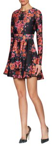 Torn by Ronny Kobo short dress Stretchy Print A-line Longsleeve on Tradesy
